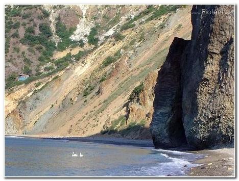 Яшмовый пляж на Фиоленте