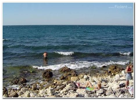 Пляж на Херсонесе