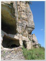 Тепе-Керменские пещеры
