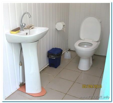 Новый туалет