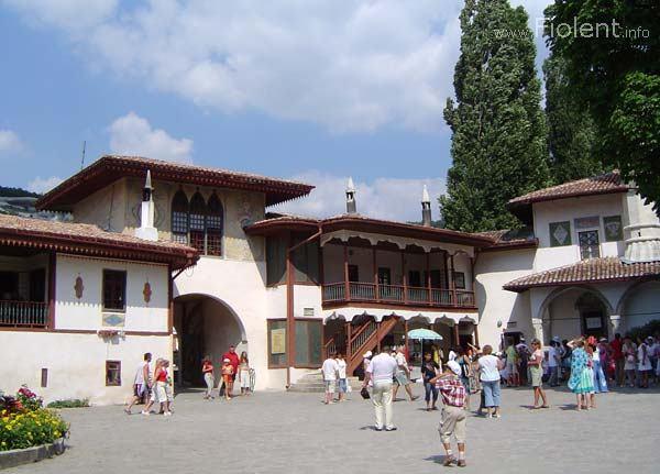 Дворец из бисера бахчисарай